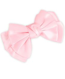Stol'n Bow Hair Clip - Light Pink