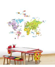 Kidocent The World Wall Decals