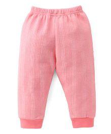 Ollypop Full Length Winter Wear Legging - Pink