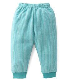 Ollypop Full Length Winter Wear Legging - Green
