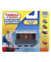 Thomas And Friends Collectible Railway Train - Brown
