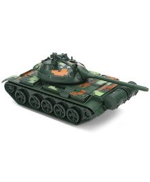 ToyFactory Baby Metal Army Tank Toy - Green