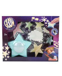 Simba Glow In The Dark Decoration Set Star Theme - Multi Color