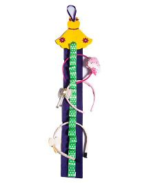 Li'll Pumpkins Quirky Dress Hairband Organiser - Yellow