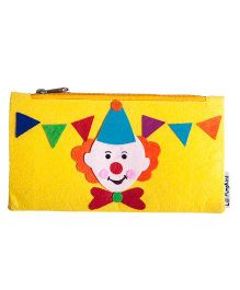 Li'll Pumpkins Clown Hat Pencil Pouch - Yellow