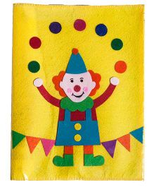 Li'll Pumpkins Circus Clown Hat Pencil Pouch - Yellow