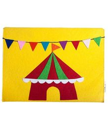 Li'll Pumpkins Circus Hat Envelope Folder - Yellow