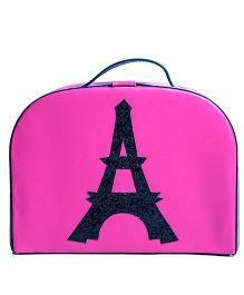 Li'll Pumpkins Eiffel Tower Trunk Bag - Pink