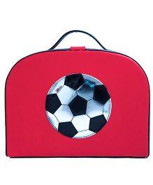 Li'll Pumpkins Football Trunk Bag - Red