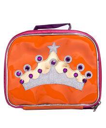 Li'll Pumpkins Crown Accessory Box - Orange