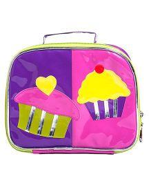 Li'll Pumpkins Cup Cake Accessory Box - Pink & Purple