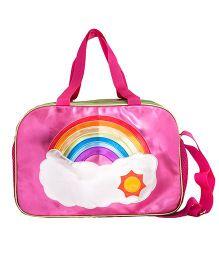 Li'll Pumpkins Rainbow Bag - Pink