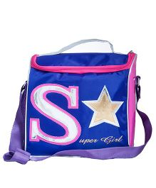Li'Ll Pumpkins Superstar Sling Bag - Pink & Blue