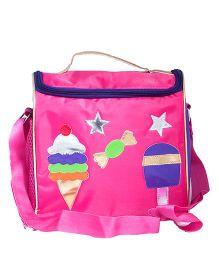 Li'Ll Pumpkins C&y & Icrecream Sling Bag - Pink