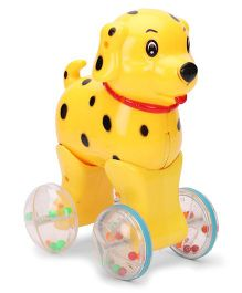 Luvely Press N Go Doggy - Yellow
