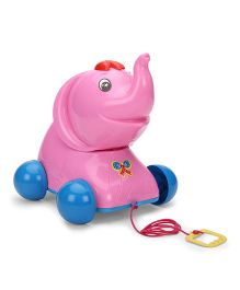 Luvely Pull Along Jumbo Toy - Pink