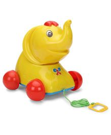 Luvely Pull Along Jumbo Toy - Yellow