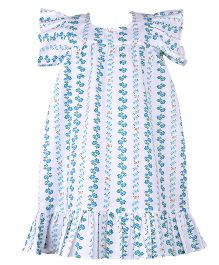 Bownbee Elegant Nighty Gown - Green