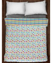 Paper Rockets Monsters Coverlet - Multicolor