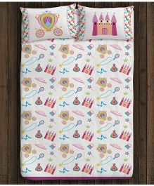 Paper Rockets Fairy Accessories Single Bed Sheet - Multicolor
