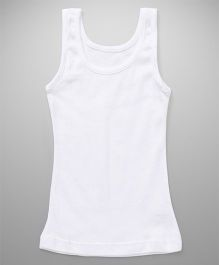 Bodycare Sleeveless Plain Slip  - White