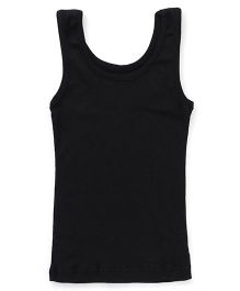 Bodycare Sleeveless Plain Slip  - Black
