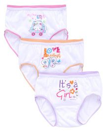 Bodycare Printed Panties Pack Of 3