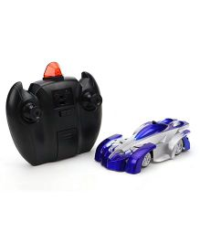 Smiles Creation Super Remote Controlled Car Toy - Blue And Sliver