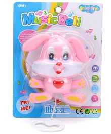Smiles Creation Pull String Rabbit Toy - Pink