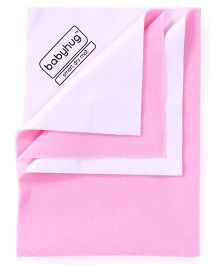 Babyhug Smart Dry Bed Protector Sheet Medium - Pink