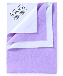 Babyhug Smart Dry Bed Protector Sheet Extra Large - Lilac