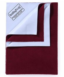 Babyhug Smart Dry Bed Protector Sheet Extra Large - Maroon
