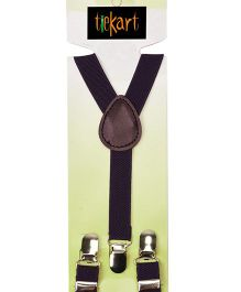 Tiekart Holding It Up-Playful Suspenders - Purple