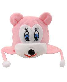 Tiekart Mouse Design Cap - Pink