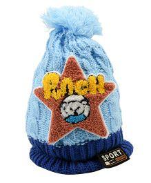 Tiekart Punch Start Design Cap - Blue