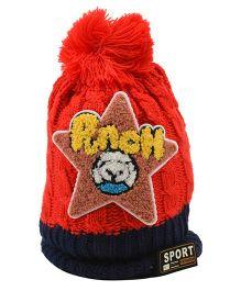 Tiekart Punch Start Design Cap - Red
