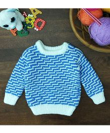 Magic Needles Exclusive Pullover - Blue