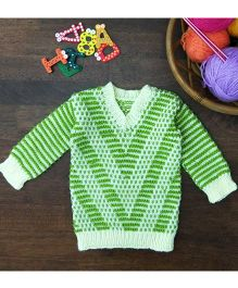 Magic Needles Exclusive Pullover - Green