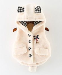Awabox Rabbit Pattern Vest - Beige