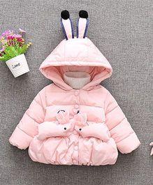 Awabox Bunny Winter Jacket - Pink