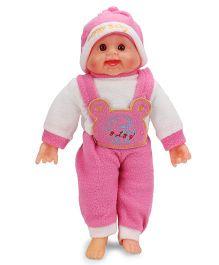 Smiles Creation Laughing Doll Dark Pink - 36 cm