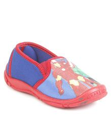 Avengers Slip On Canvas Shoes - Red