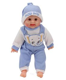 Smiles Creation Laughing Doll Dark Blue - 36 cm