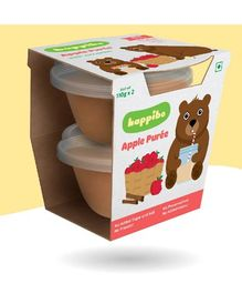 Happibo Apple Puree Pack Of 2 - 220 gms