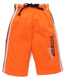 Taeko Three Fourth Bermuda Pants - Orange