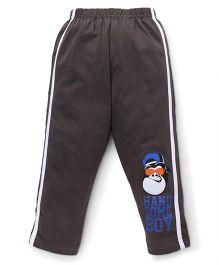 Taeko Full Length Track Pants - Dark Brown