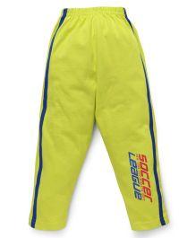 Taeko Full Length Track Pants - Lemon Yellow