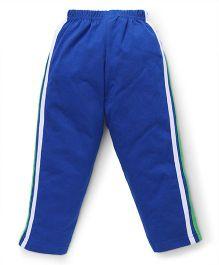 Taeko Full Length Track Pants - Blue