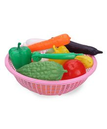 Ratnas Vegetable Basket Pink - 15 Pieces