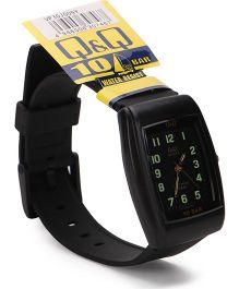Q&Q Analog Wrist Watch - Black